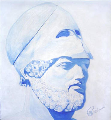 Painting - Pericles by Elly Potamianos