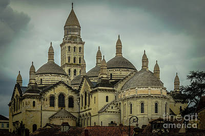 Perigueux Cathedral Art Print