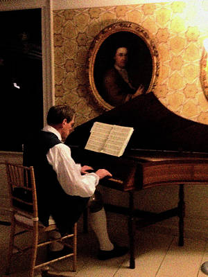 Photograph - Period Christmastime Piano Concert At Strawbery Banke by Mark Alesse