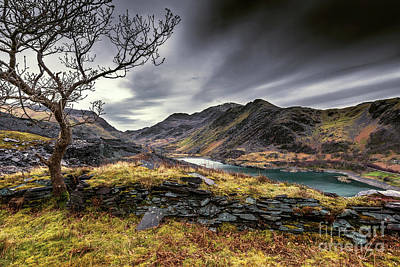 Photograph - Peris Lake Snowdonia by Adrian Evans