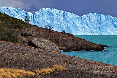 Photograph - Perito Moreno 02 by Bernardo Galmarini