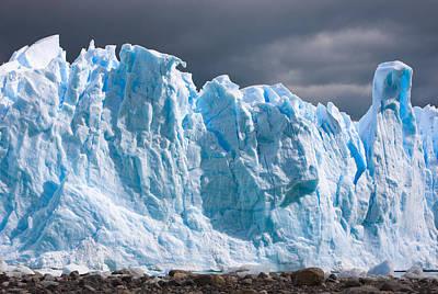 Photograph - Perito Moreno Glacier - Patagonia by Carl Amoth