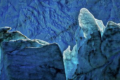 Photograph - Perito Moreno Glacier Details #2 - Patagonia by Stuart Litoff