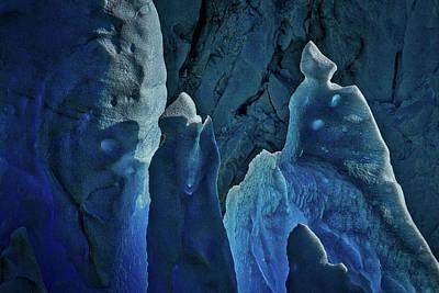 Photograph - Perito Moreno Glacier Details - Patagonia by Stuart Litoff