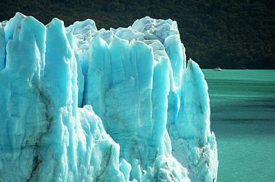 Photograph - Perito Moreno Glacier by Phyllis Peterson