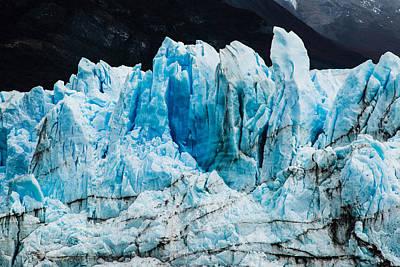 Photograph - Perito Moreno Glacier by Walt Sterneman