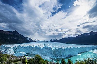 Photograph - Perito Moreno by Olivier Steiner