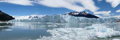 Photograph - Perito Moreno by PJ Boylan