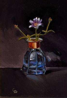 Painting - Periwinkle Gem by Grace Diehl