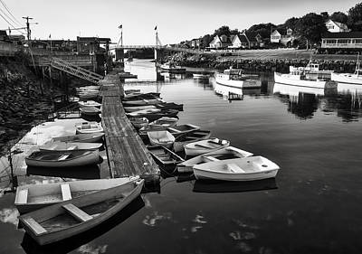 Photograph - Perkins Cove Boats - Maine by Steven Ralser