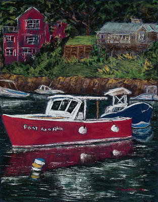 Painting - Perkins Cove by Diana Wade