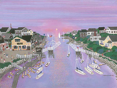 Perkins Cove Painting - Perkins Cove by Patricia Palermino