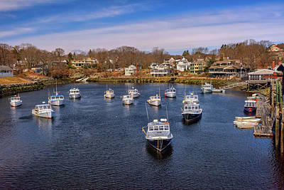 Photograph - Perkins Cove by Rick Berk