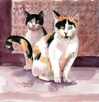 Painting - Perla And Sparks by Mimi Boothby