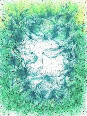 Permaculture For Planet Earth #263 Original by Rainbow Artist Orlando L aka Kevin Orlando Lau