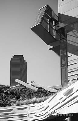 Photograph - Perot Museum Of Nature And Science  3 by Elena Nosyreva
