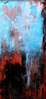 Large Metal Wall Art Painting - Perplexity 3 by Holly Anderson