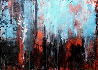 Large Metal Wall Art Painting - Perplexity by Holly Anderson