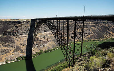 Photograph - Perrine Bridge Circle by Tom Cochran
