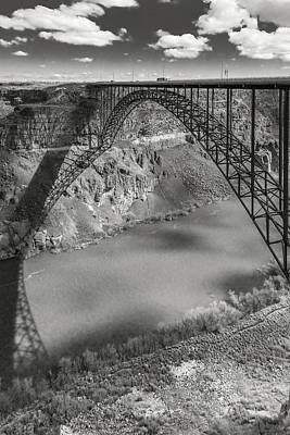 Photograph - Perrine Bridge by Mark Mille