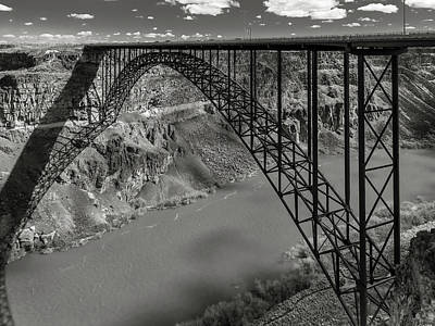 Photograph - Perrine Bridge, Twin Falls, Idaho by Mark Mille