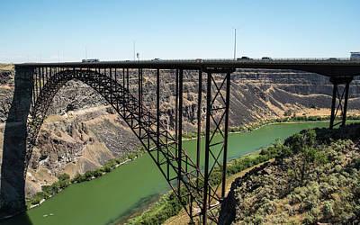 Photograph - Perrine Memorial Bridge by Tom Cochran