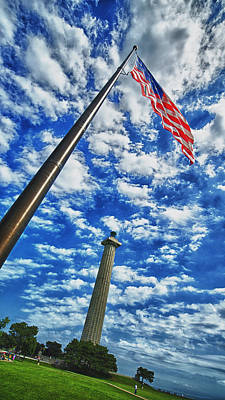 Gallery Photograph - Perry Monument  by Kevin Cable