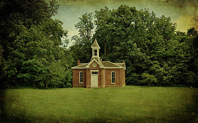 Photograph - Perry Township School No. 3 by Sandy Keeton