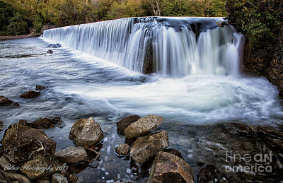 Photograph - Perry's Mill Dam by Linda Blair