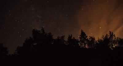 Photograph - Perseid Meteor Glow B by Phyllis Spoor