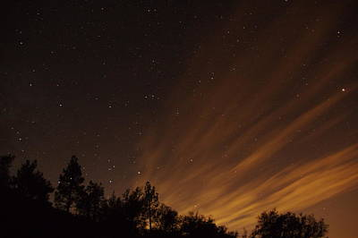 Photograph - Perseid Meteor Glow D by Phyllis Spoor