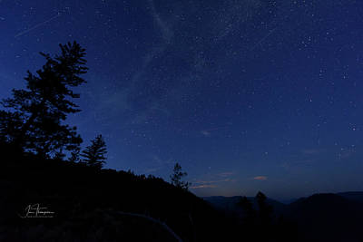 Photograph - Perseids Meteor Shower 1 by Jim Thompson