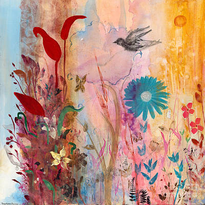 Mixed Media - Persephone's Splendor by Robin Maria Pedrero