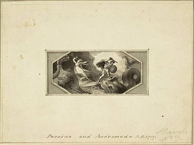Perseus And Andromeda Art Print by Edward Francis Burney