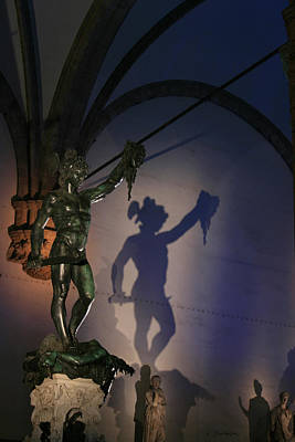 Photograph - Perseus By Cellini Florence Italy by Kelly Borsheim