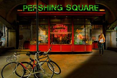 Pershing Photograph - Pershing Square by Diana Angstadt