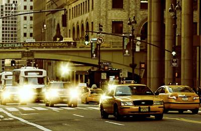 Photograph - Pershing Square Traffic by Diana Angstadt