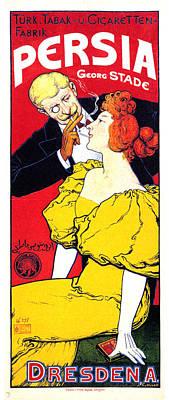 Mixed Media - Persia - Dresden A - Vintage Advertising Poster by Studio Grafiikka