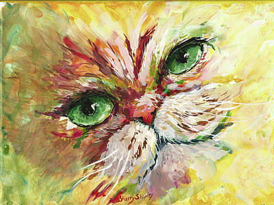 Painting - Persian Attitude by Sherry Shipley