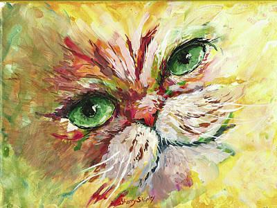 Painting - Persian Attitude by Sherry Shipley