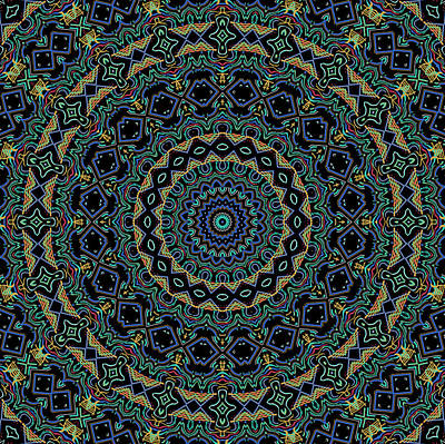 Persian Carpet Art Print by Joy McKenzie