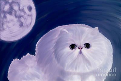 Breed Digital Art - Persian Cat  by Galambosi Tamas