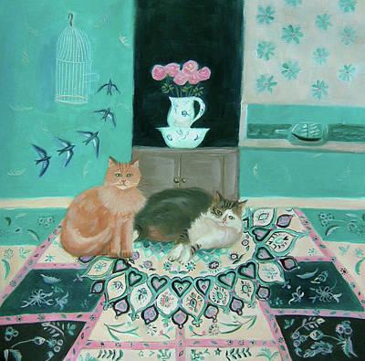 Revolutionary War Art - Persian Paradise by Mary Stubberfield
