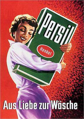 Royalty-Free and Rights-Managed Images - Persil - Henkel - Vintage Advertising Poster by Studio Grafiikka