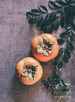 Photograph - Persimmon by Andrea Anderegg