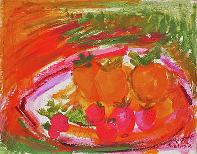 Painting - Persimmon by Phyllis Hanson Lester