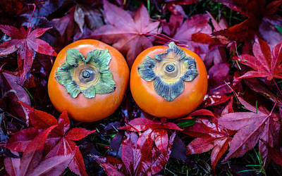 Photograph - Persimmons 1 by Ronda Broatch