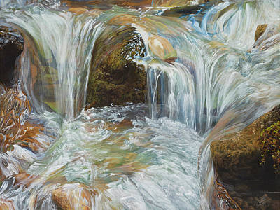 Painting - Persistence by Jessica Tookey