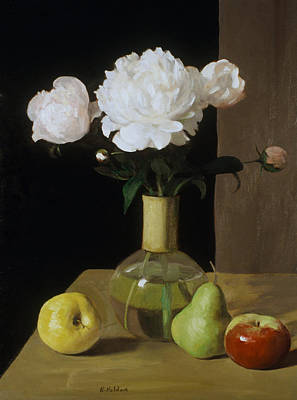 Painting - Persistence Of Peonies No.2 by Robert Holden