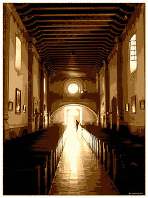 Mission San Luis Rey Photograph - Personal Sanctuary by Glenn McCarthy Art and Photography